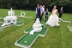 Golf Wedding, Hotel Wedding, Wedding Stuff, Dream Wedding, Golf Crafts, Game Cafe, Crazy Golf, Backyard Cottage, Miniature Golf