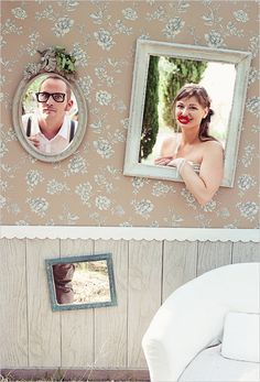 cutout board instead of a photobooth Diy Party Photo Booth, Photo Booth Wall, Wedding Photo Booth, Wedding Props, Photo Booth Backdrop, Diy Wedding, Rustic Wedding, Dream Wedding, Wedding Decorations