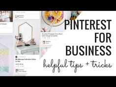 Pinterest for Business -- Increase Your Profits by Marketing on Pinterest - YouTube
