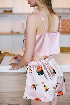 Sushi Lover Pajama Sushi print pajama Sushi PJ Sushi Pj Set | Etsy