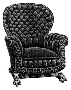 Vintage Chair Clip Art ~ Free Image