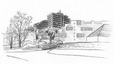 May 12, 2018. Bratislava, Mlynska dolina. Pencil drawing. #drawing #sketch #urbansketchers #pencil #art #Bratislava