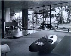 "Julius Shulman (American, 1910-2009), ""Case Study House #9 (Entenza House)"", taken 1950, gelatin silver print, signed"
