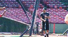 gracefully playing baseball in Boston [May 25th, 2006]