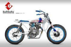 Honda CG125 Street Tracker #9 by Barbara Custom Motorcycles #motorcycles #streettracker #motos | caferacerpasion.com