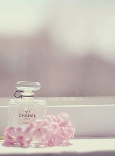 Chanel and flowers.