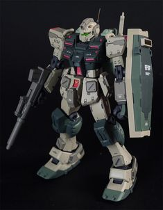 1/144 Powered GM: Custom Build by muchon_hg. Photoreview Big or Wallpaper Size Images