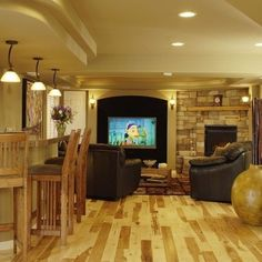 remodel basements ideas   Traditional Basement Design, Pictures, Remodel, ...   basement ideas