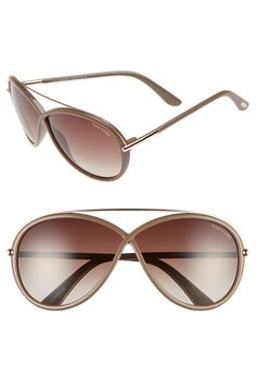 Tom Ford 'Tamara' 64mm Sunglasses
