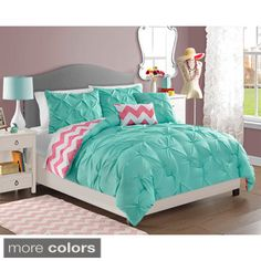 Teen Girl Bedrooms truly dreamy vibe - Delightful and breathtaking styling tricks. Filed at teen girl bedrooms themes teal , wicked example note inspired on 20190127 Girl Room, Dream Bedroom, Dream Rooms, Bedroom Decor, Comforter Sets, Kids Comforter Sets, Room Makeover, Home, Room
