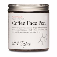 Raz Spa Coffee Face Peel ($40) ❤ liked on Polyvore featuring beauty products, skincare and face care