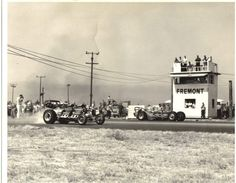 Flashback Friday: California's Fremont Dragstrip - Dragzine. Who knew it would actually turn into a huge shopping/Dining area!