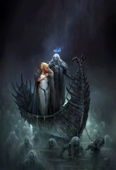 hades and persephone 3 by sandara Featured on Cyrail: Inspiring artworks that make your day better