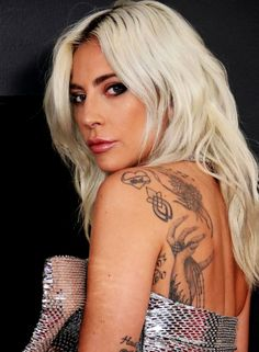 Check out the new ink on stars like Lady Gaga Ariana Grande and Zoë Kravitz. Check out the new in Heart Tattoos With Names, Heart Tattoos Meaning, Simple Heart Tattoos, Name Tattoos, Unique Tattoo Designs, Tribal Tattoo Designs, Unique Tattoos, Sexy Tattoos, Lady Gaga