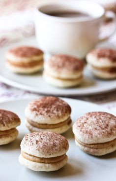 Tiramisu Cookies ~ little nibbles of Italian bliss. A delicately thrilling addition to your holiday cookie lineup.