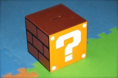 Make gift bags or pinata that are Question mark cubes?