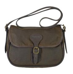 Barbour Beaufort Wax Cotton Shoulder Bag LBA0086OL11