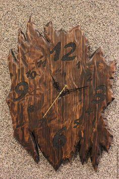 Часы для дома ручной работы. Заказать Часы. Izderevjashki. Ярмарка Мастеров. Кварцевые часы, часы интерьерные, состаренное дерево, деревенский