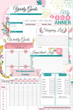 Weight loss planner that will help you gain control of your health with weekly, monthly meal planner, before and after measurement tracking, yearly goal setting. Get started on the right foot this year and accomplish your goals. Weight Loss Drinks, Weight Loss Smoothies, Healthy Weight Loss, Health And Beauty Tips, Health And Wellness, Health Yoga, Gut Health, Wellness Tips, Monthly Meal Planner