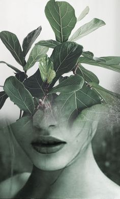 Double exposure portraits by Antonio Mora (a.k.a. Mylovt). He blends human and nature into surreal hybrid artworks. Mora works with images he'd found browsing through online databases, magazines and blogs, and then fuses them together using skillful photo manipulation techniques. www.mylovt.com/ Art, Digital Art, Digital Collage