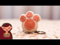 Amigurumi | como hacer una huella de perrito en crochet | Bibi Crochet 2018 - YouTube