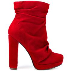 Malone - Red Suede by Michael Antonio