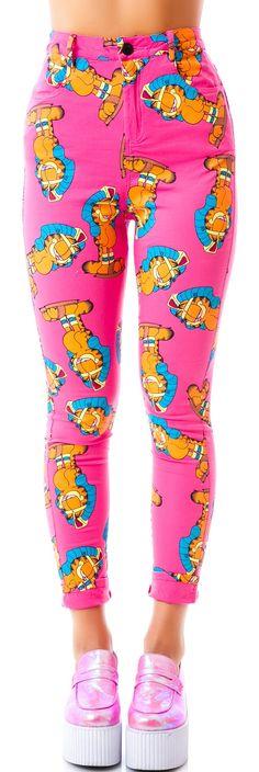 Lazy Oaf x Garfield Walk Like Pants | Dolls Kill