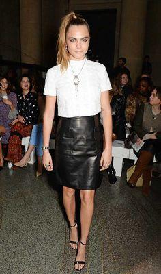 Cara Delevingne's Style File   Fashion, Trends, Beauty Tips & Celebrity Style Magazine   ELLE UK