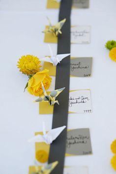 Party favors - paper cranes