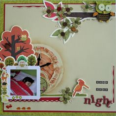 1 Good Nigh, Paper Background, Clear Stamps, Squirrel, Make Your Own, Woods, Scrapbooking, Christmas Ornaments, Holiday Decor