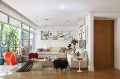 O primeiro lar do jovem advogado - Casa Vogue | Interiores