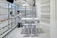 Selfridges' Fragrance Lab. The award-winning pop-up concession