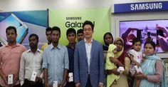 কুইজ বিজয়ীরা জিতে নিলেন গ্যালাক্সি জে১ নেক্সট ডিভাইস - Current News | Bangla Newspaper | English Newspaper | Hot News