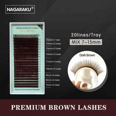 4.65$ (More info here: http://www.daitingtoday.com/nagaraku-mix-7-15mm-brown-eyelash-extension-brown-lashes-brown-eyelashes ) NAGARAKU mix 7~15mm,brown eyelash extension, brown lashes,brown eyelashes. for just 4.65$