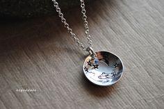 Handcrafted Sterling Silver Swarovski Crystal Birthstone Necklace