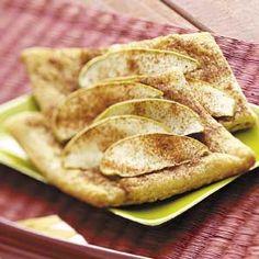 Cinnamon Apple Tartlets Recipe from Taste of Home