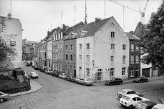 Hoek Grote Looierstraat overzicht - Maastricht 1976