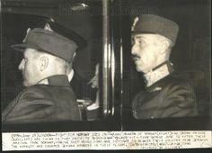 1940 Press Photo KING HAAKON NORWAY PRINCE OLAV BUCKINGHAM PALACE - Historic Images