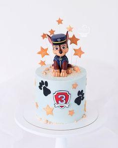 Jerry 🐭 🧀 by Bolo Do Paw Patrol, Paw Patrol Torte, Paw Patrol Cake Toppers, Mickey Mouse Birthday Cake, Baby Birthday Cakes, Dog Cakes, Girl Cakes, Paw Patrol Birthday Theme, Cake Art