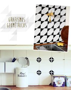 Apartamento 304: sobre azulejos, adesivos e triângulos