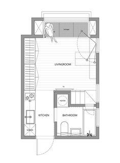 Depois de ver as fotos, não dá para acreditar que esse apartamento tem apenas 22m² - Ideias Diferentes