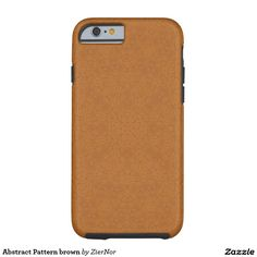 Abstract Pattern brown Tough iPhone 6 Case