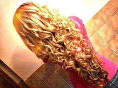 Curls..love her hair!