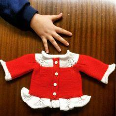 Bebek hırkası,elişi