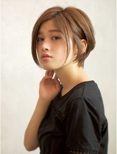 ベック ヘアサロン 恵比寿 代官山(BEKKU hair salon)『美シルエット☆』大人可愛いエレガントショートでふんわり感♪