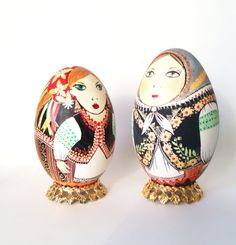 traditional ukrainian costume  large Goose by UkrainianEasterEggs