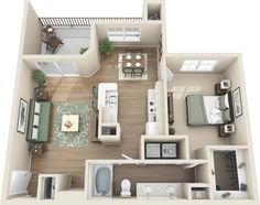 One and Two Bedroom Apartments in Colorado Springs, CO