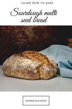 This sourdough recipe for multi-seed bread with toasted oat and a hint of whole rye have a lot of exciting and delicious flavors. Sourdough Recipes, Sourdough Bread, Bread Recipes, All You Need Is, Toasted Oats, Seed Bread, Rye Flour, My Best Recipe, Artisan Bread