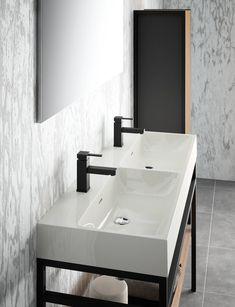 plan vasque en marbre reconstitu brillant evermite cedam disponible en largeur 90 120 140 cm. Black Bedroom Furniture Sets. Home Design Ideas