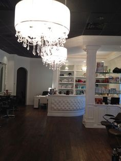 Remodel of Hair Salon - Traditional - Entry - miami - by Cawthra Construction & Interior Design